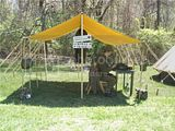 Triage tent